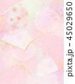 和-和風-和柄-背景-和紙-春-桜-ピンク 45029650