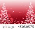 背景 クリスマス イルミネーションのイラスト 45030575