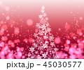 背景 クリスマス イルミネーションのイラスト 45030577