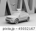 自動車 SUV ドローンのイラスト 45032167