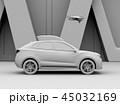 自動車 SUV ドローンのイラスト 45032169