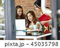 女性 若い女性 ビジネスウーマンの写真 45035798