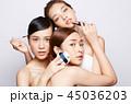 女性 ビューティ 化粧の写真 45036203