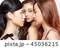 女性 ポートレートシリーズ ドレスアップ 45036215
