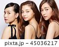 女性 ポートレートシリーズ ドレスアップ 45036217
