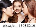 女性 ポートレートシリーズ ドレスアップ 45036219