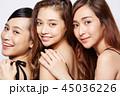 女性 ポートレートシリーズ ドレスアップ 45036226