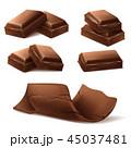 チョコレート 食 料理のイラスト 45037481