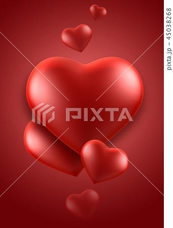背景 愛 ハート 45038268