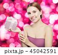 女性 ギフト プレゼントの写真 45042591