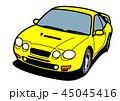 ベクター 自動車 乗用車のイラスト 45045416