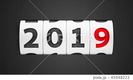 New year 2019 counter #2 45048222