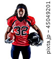 american football player man isolated 45049201