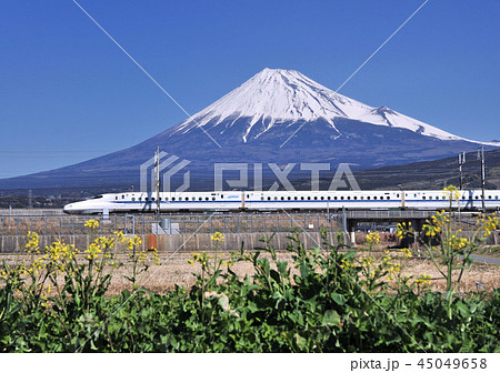 新幹線と富士山-5354 45049658