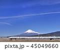 風景 青空 富士山の写真 45049660