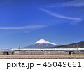 風景 青空 富士山の写真 45049661