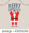 クリスマス メリークリスマス メリー・クリスマスのイラスト 45050240