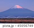 富士山 世界文化遺産 水管橋の写真 45056749