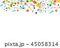 水彩 テクスチャー 背景素材のイラスト 45058314