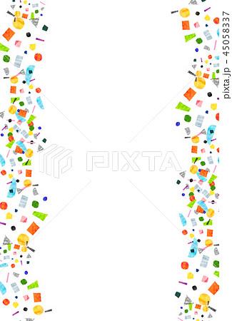 背景素材 コラージュ 水彩テクスチャー 45058337