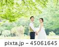 ウェディング ウエディング 花嫁の写真 45061645