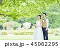 ウェディング ウエディング 結婚の写真 45062295