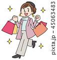 セール 買い物 ショッピングのイラスト 45063483