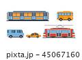 交通 イラスト 挿絵のイラスト 45067160