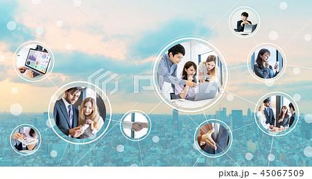 ビジネスネットワーク 45067509