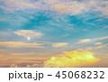 夕空 空 雲の写真 45068232