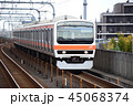 武蔵野線 209形 乗り物の写真 45068374