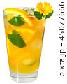 コップ オレンジ オレンジ色の写真 45077666