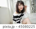 女性 ヘアスタイル 巻き髪の写真 45080225