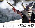 鉄砲隊 火縄銃 鉄砲の写真 45081942
