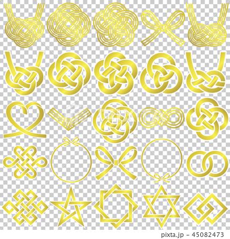 水印圖標25種黃金 45082473