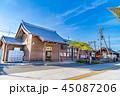 穂高駅 駅 駅舎の写真 45087206
