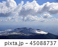 伊豆大島三原山冠雪 45088737