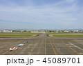 県営名古屋空港 滑走路 45089701