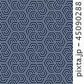 パターン 柄 模様のイラスト 45090288