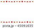 フレーム 背景 正月のイラスト 45091635