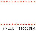 フレーム 背景 正月のイラスト 45091636