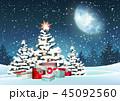 木 クリスマス プレゼントのイラスト 45092560
