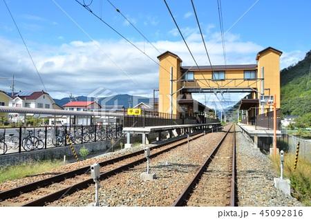 しなの鉄道 千曲駅 【2018.10】の写真素材 [45092816] - PIXTA