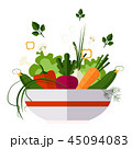 サラダ サラダ 料理のイラスト 45094083