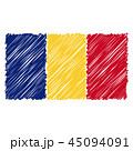 旗 フラッグ フラグのイラスト 45094091