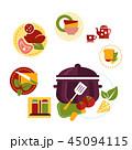 クッキング 料理 調理のイラスト 45094115