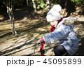 子供 女の子 少女の写真 45095899