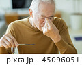 男性 シニア 老人の写真 45096051