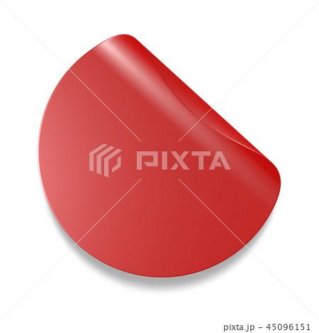 赤 ラベル タグ 45096151