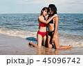 ビーチ 浜辺 ビキニの写真 45096742